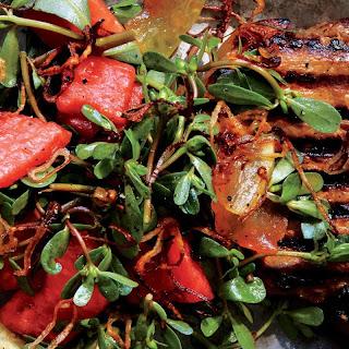 Vietnamese Pork Chops with Pickled Watermelon recipe | Epicurious.com.