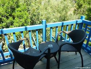 Photo: #009- Le balcon de notre chambre au village du Club Med de Bodrum Palmiye
