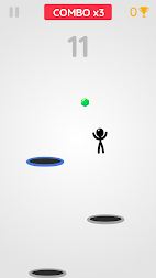 Tramp Land - Stickman Jump Arcade APK screenshot thumbnail 3