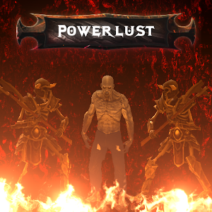 Powerlust action RPG roguelike 0.779 by Bartlomiej Mamzer logo