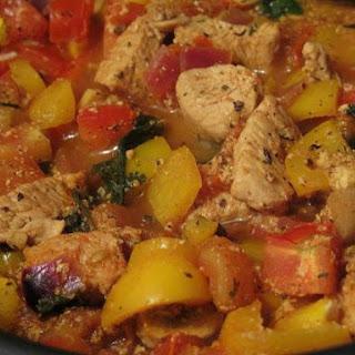 Mild Turkey Tomato Curry