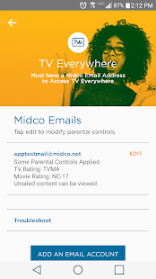 Midco My Account- screenshot thumbnail