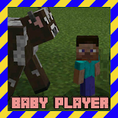 Addon Baby Player Mod for MCPE