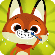 App Icon for WoodieHoo Brushing Teeth App in United States Google Play Store