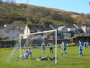 Photo: 15/03/14 v Ammanford (Welsh League Division Two) 1-7 - contributed by Leon Gladwell