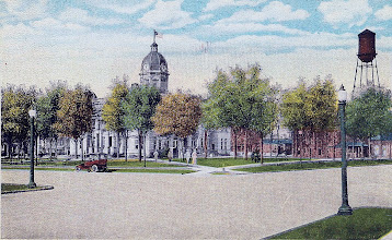 Photo: Shelby Courthouse 1917