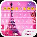 Sweet Paris Emoji Keyboard icon
