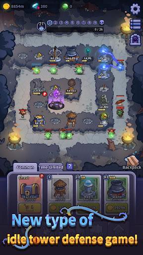 Idle Defense: Dark Forest [Mod] Apk - Rừng bóng tối