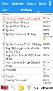 Grocery Tracker Shopping List- screenshot thumbnail