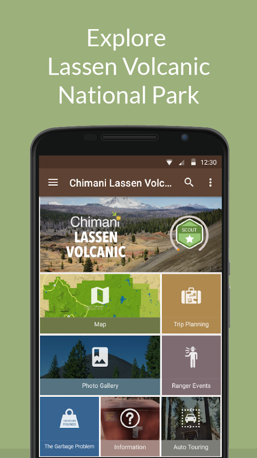 Lassen Volcanic NP by Chimani- screenshot