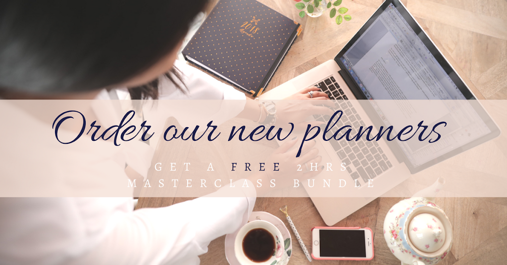 Get the new Susana Cresce Planners 2018, and plan a life you love.