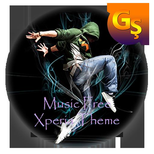 music FREE | Xperia™ Theme