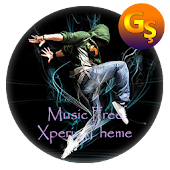 music FREE | Xperia™ Theme