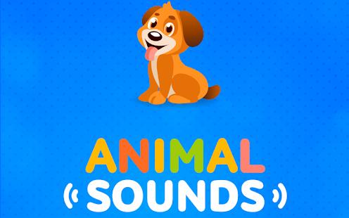 Zvuk zvířat pro děti - náhled