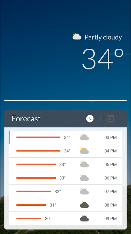 JM Weather +- screenshot