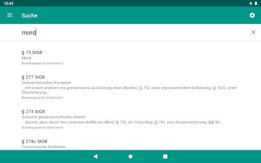 Lawdroid AT – Österreichische Gesetze und EU-Recht screenshot 20