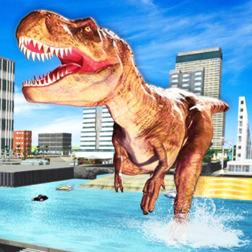Deadly Dinosaur Sim 2019 icon