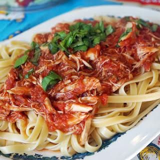 Quick Crab Pasta Sauce