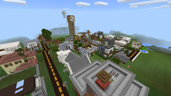 modern city map for minecraft android apps on play
