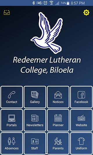 Redeemer Lutheran College- screenshot