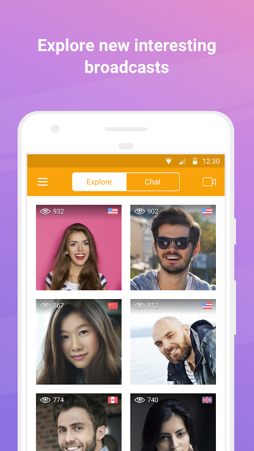 U LIVE – Video Chat & Stream- screenshot