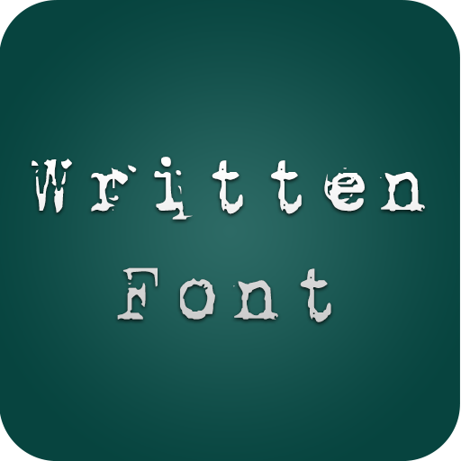 Written Fonts for FlipFont®