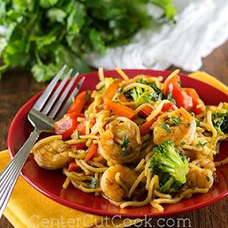 Sweet N' Spicy Shrimp Stir-Fry.