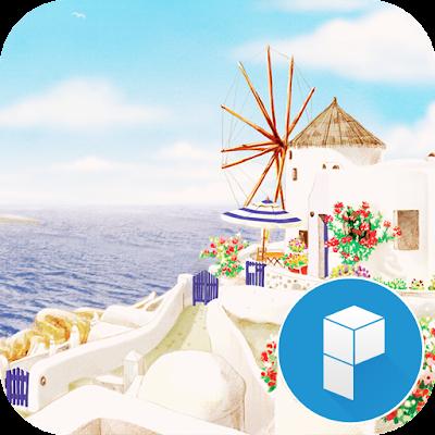 Travel Santorini Theme