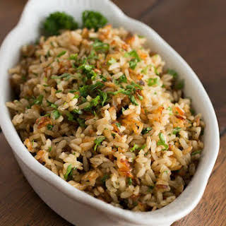 Baked Brown Rice.