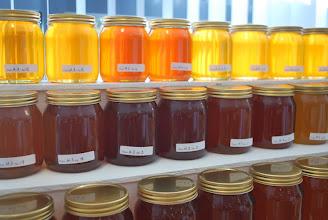 Photo: Honey on display