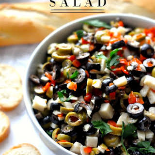 Olive and Cheese Salad.