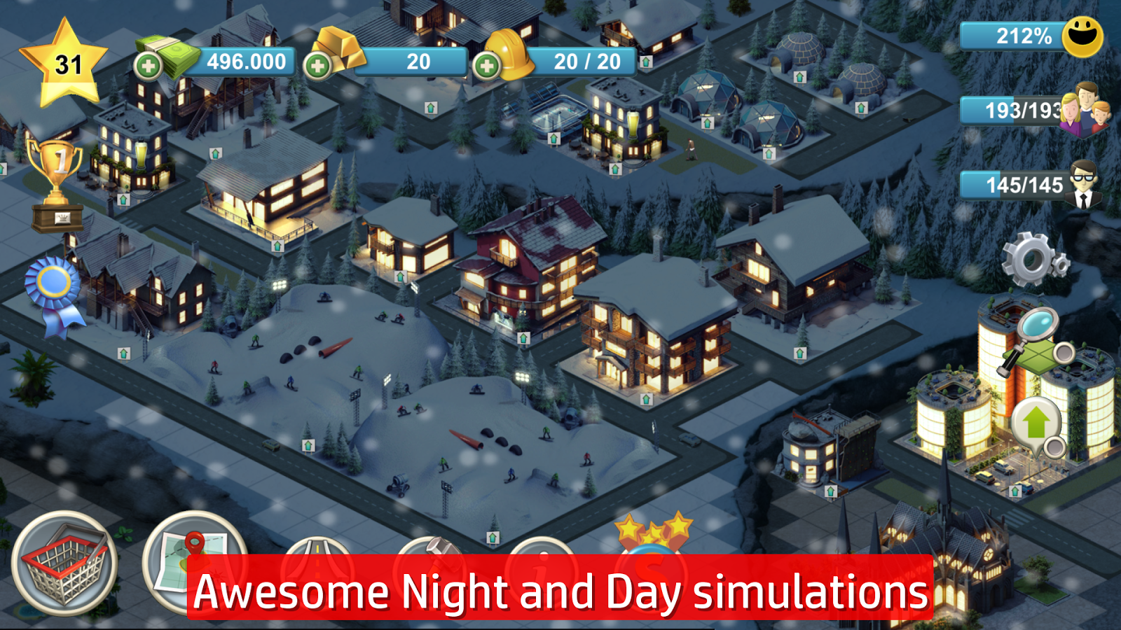 House Builder Simulator City Island 4 Sim Town Tycoon Expand The Skyline