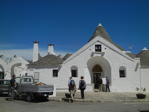 Photo: This is the Trullo Sovrano, one of the largest trulli in Alberobello and one of the only ones that have two stories.