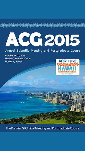 ACG 2015