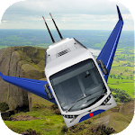 Flying Bus Simulator 3D 2017 Icon