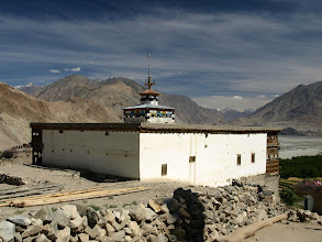 Photo: old mosque in Macholo