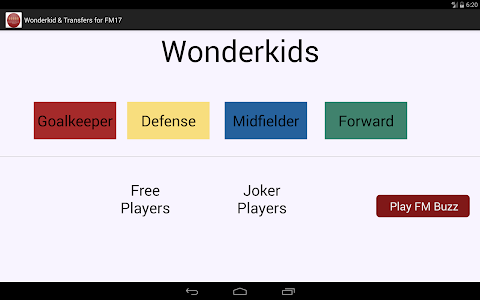 Wonderkid and Transfers for FM screenshot 6