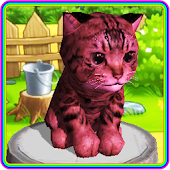Colored Kittens 🐱 virtual pet