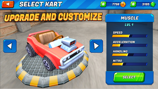 Boom Karts - Multiplayer Kart Racing apkmr screenshots 6
