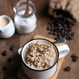 Cold Brew Coffee Overnight Oats.