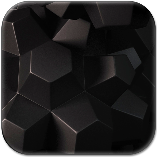 Black Live Wallpaper Icon