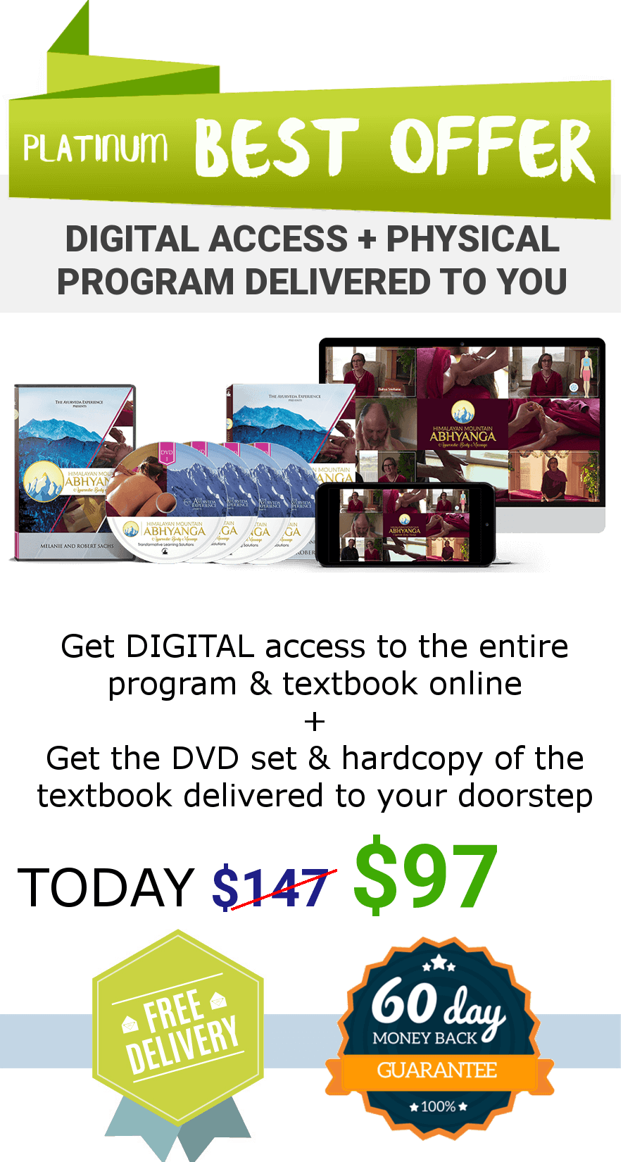 Take advantage of the Platinum offer now!