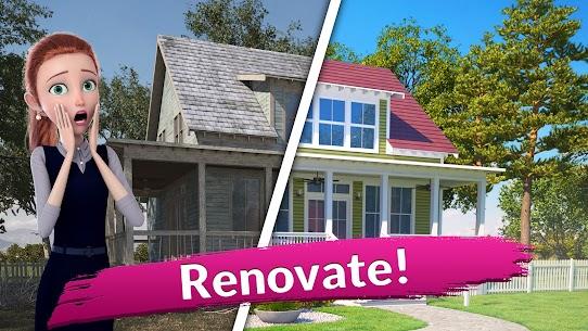 Flip This House: 3D Home Design Games MOD (Unlimited Money) 1