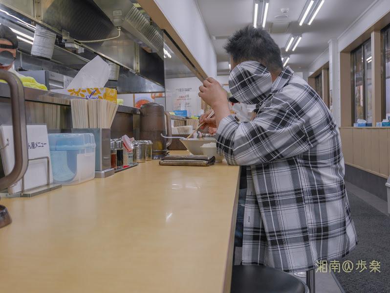 ぎょうてん屋東名厚木店 カウンター