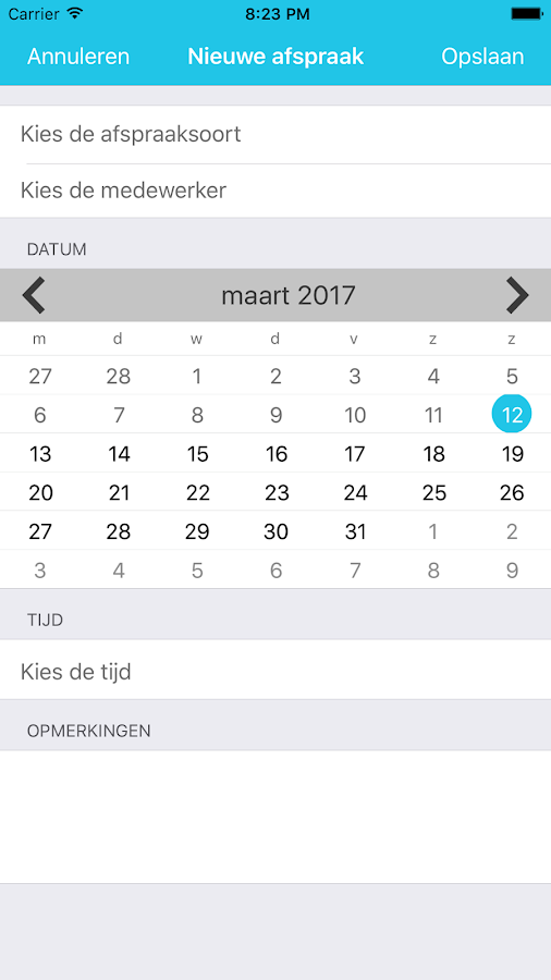 MijnSalon Book Now- screenshot