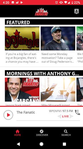 97.5 The Fanatic -Philadelphia  screenshots 1