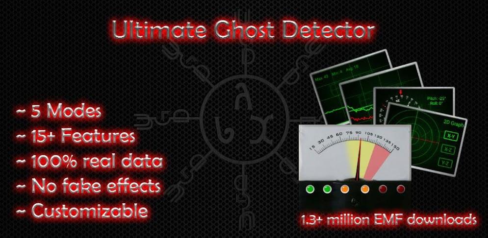 Ultimate Ghost Detector (real EMF, EVP recorder) APK v  1 3