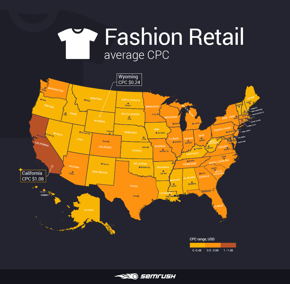 How Advertising Costs Vary Across Different States: 17 Industries Analyzed (Study)