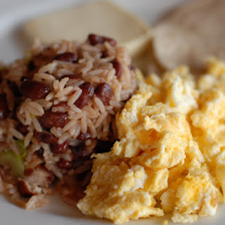 Costa Rican Gallo Pinto (beans and rice)