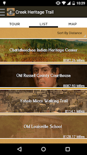 Creek Heritage Trail- screenshot thumbnail